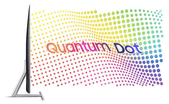 TV QLED Samsung Quantum Dots
