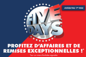Five French Days Ubaldi