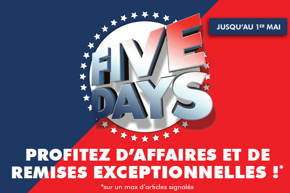 Five French Days Ubaldi