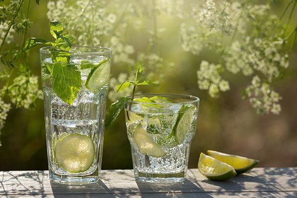 recette soda citron sain