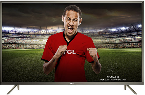 TV TCL 4K led 108 cm