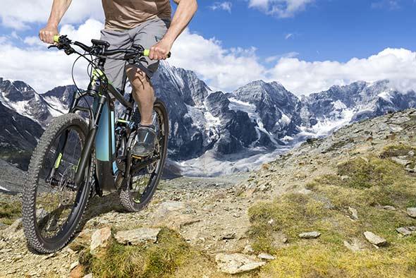 vélo électrique tout terrain eVTT