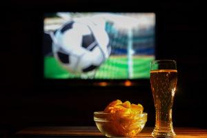 que manger et boire pendant soirée foot ?