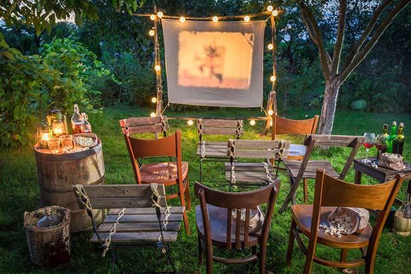 videoprojecteur cinema plein air