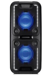 Haut-parleur portable Boombox avec batterie intégrée Sharp