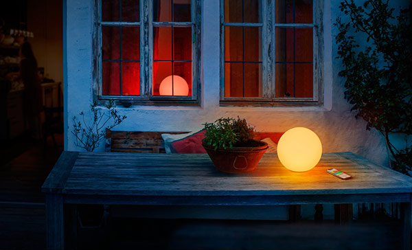 lampe led intelligente portable eve flare