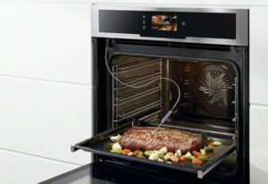 viande cuisson lente avec sonde de cuisson