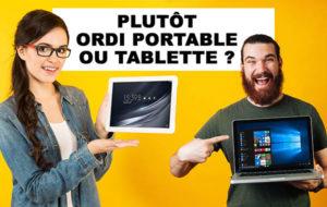 PC portable ou tablette pour un étudiant ?