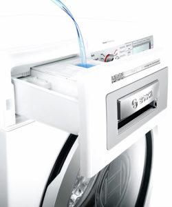 Bac lessive automatique lave linge Bosch