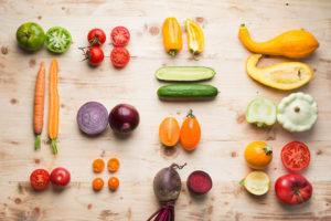 cuisiner des légumes frais