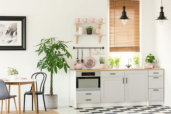cuisine d tudiant les astuces pour optimiser l espace. Black Bedroom Furniture Sets. Home Design Ideas