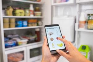 voir l'intérieur de son frigo avec son téléphone