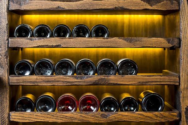 stocker ses bouteilles de vin sans cave