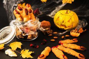 recette doigts sanglants pour halloween