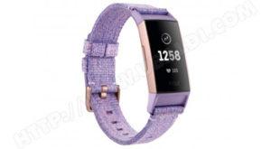 Bracelet connecté Charge 3 avec NFC Fitbit