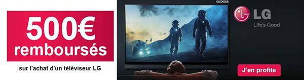 promotion tv LG noel 2018