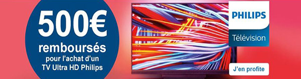 tv philips ambilight promo noel 2018