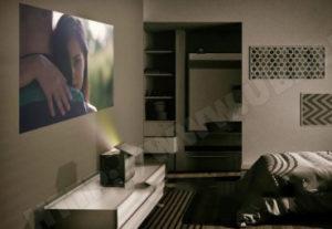 Vidéoprojecteur Home Cinéma ultra courte focale TX-100FP1E Panasonic