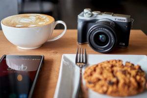 appareil photo hybride pratique à emporter