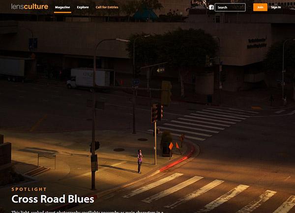 site pour apprendre photo : lens culture