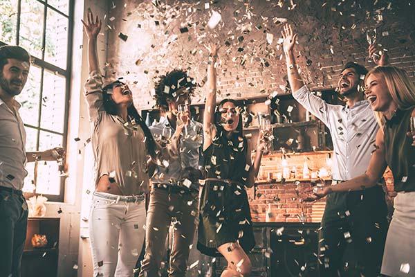 confettis saint sylvestre