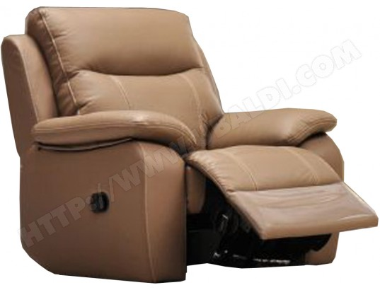 Fauteuil Relaxation EUROPE FIONA fauteuil relax taupe