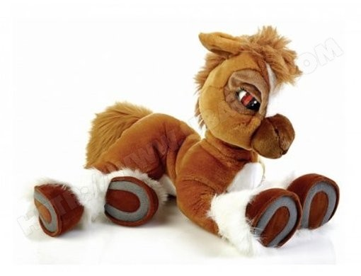 Peluche interactive EMOTION PETS Mon Poney Toffee