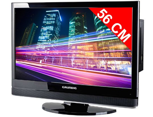 Téléviseur LCD 56 cm GRUNDIG 22VLC2102C