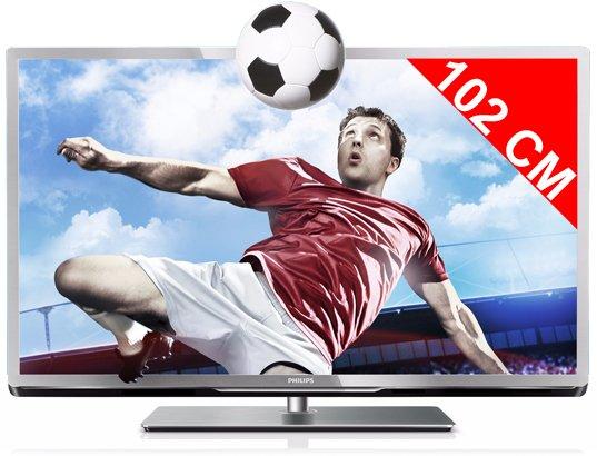 Téléviseur LED 102 cm Full HD 3D PHILIPS 40PFL5507H