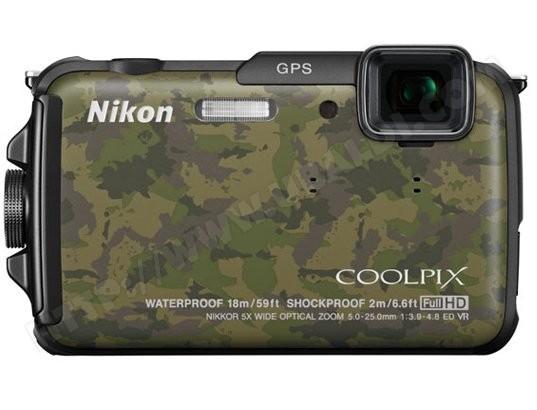 Appareil photo numérique compact NIKON CoolPix AW110 camouflage