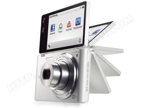 Appareil photo numérique compact SAMSUNG MultiView MV900F blanc