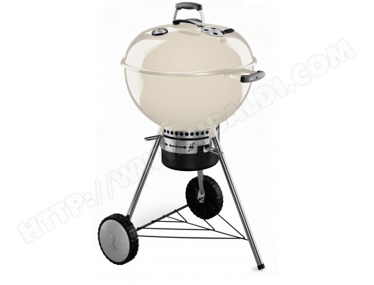 Barbecue charbon WEBER One Touch Premium 57 cm Creme