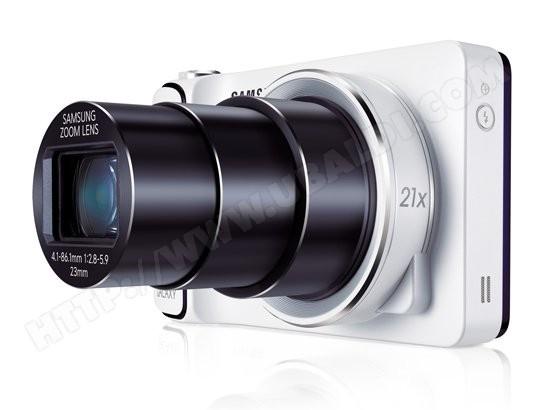 Appareil photo numérique compact SAMSUNG Galaxy Camera WiFi blanc