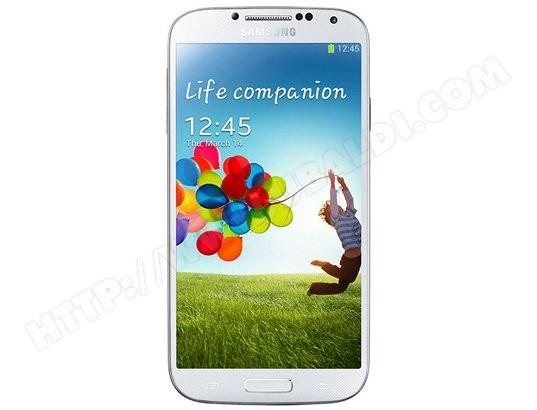 Smartphone SAMSUNG GT-i9505 - Galaxy S4 blanc