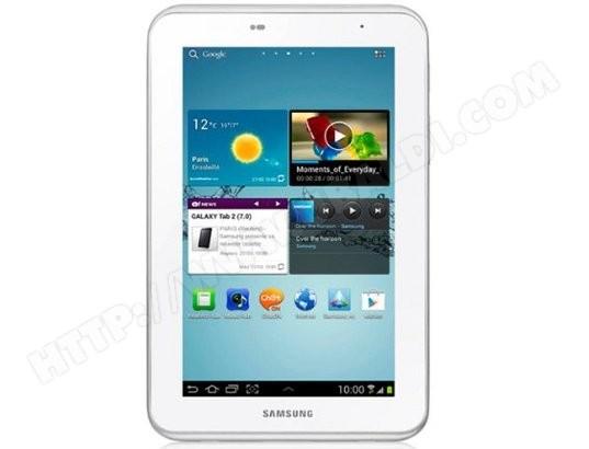 """SAMSUNG Galaxy Tab 2 7"""" Wifi - 8 Go"""