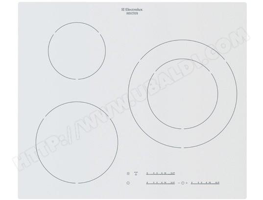 Plaque induction ELECTROLUX EHM6532IOW
