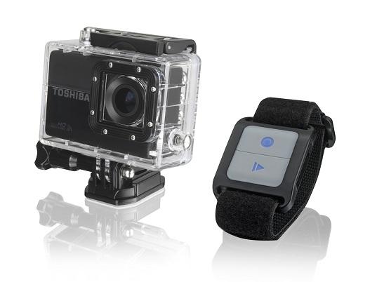 Caméra Toshiba avec télécommande mains libres