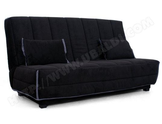 Canapé lit UB DESIGN Elisa 130 noir