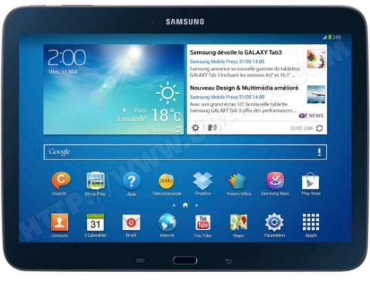 Tablette tactile SAMSUNG Galaxy Tab 3 10.1