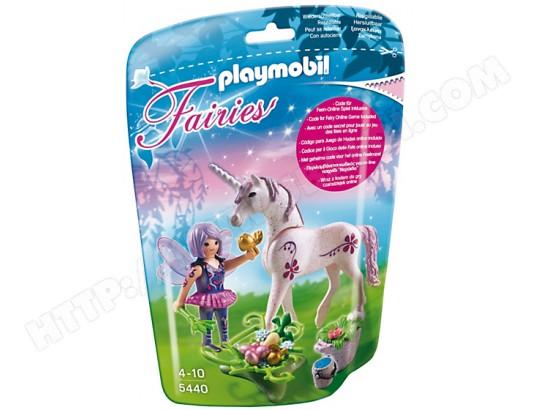 PLAYMOBIL 5440 - Fée cuisinière avec licorne Violette