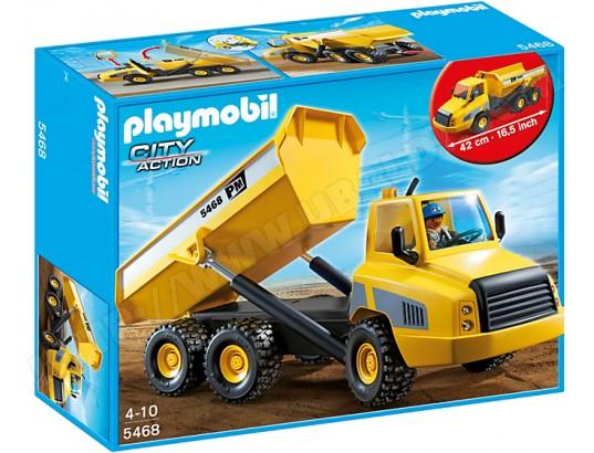 PLAYMOBIL 5468 - Grand camion à benne basculante