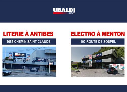 nouveaux magasins 2017 ubaldi