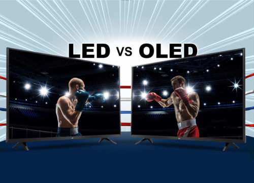 tv led ou tv oled ? le match