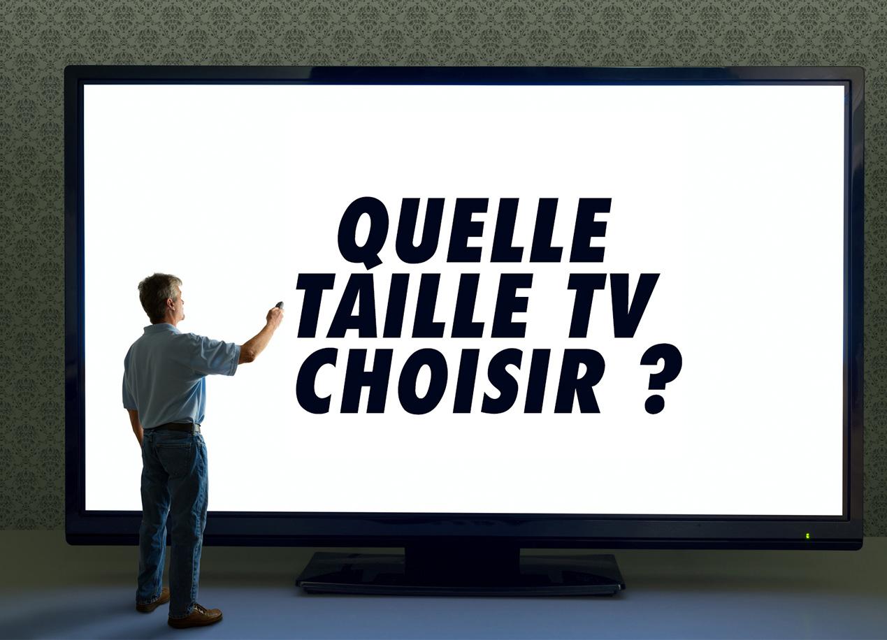 Meuble Tv Grande Taille tv 4k ou full hd : quelle taille tv choisir pour son salon ?