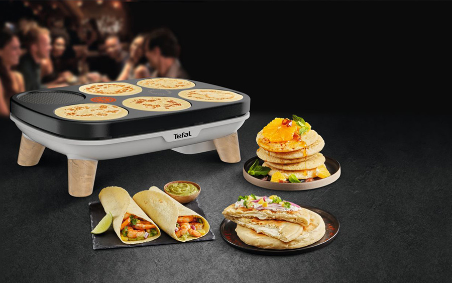 crepe party gourmet tefal