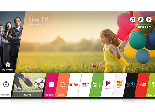 Smart TV LG Web OS