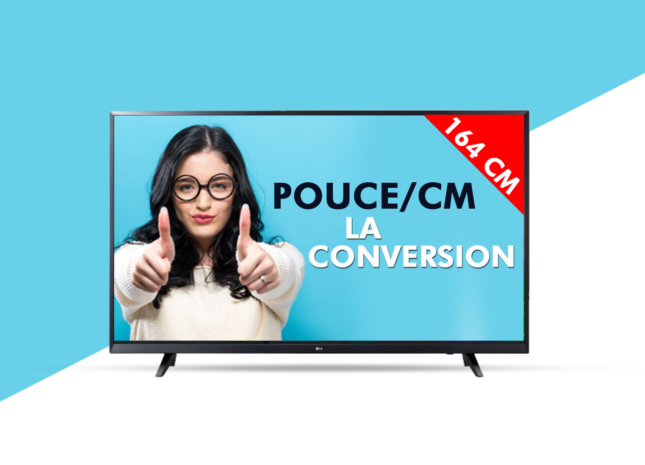 taille ecran tv comment calculer