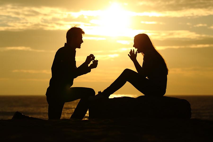 Idée cadeau Saint Valentin pour demande en mariage