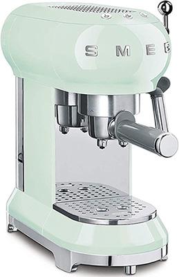 machine expresso smeg vert d'eau