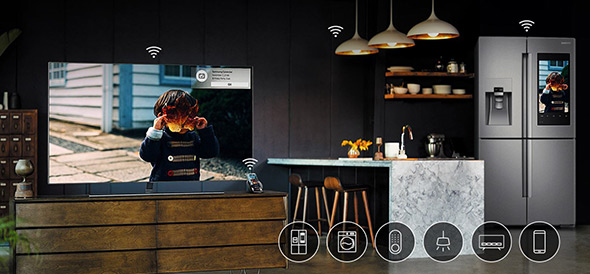 tv-qled-maison-connectée-ubaldi